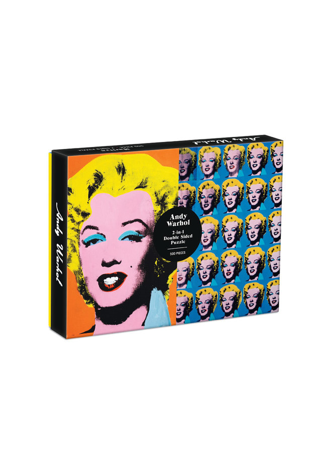 Double-Sided 500 Piece Warhol Marilyn Puzzle