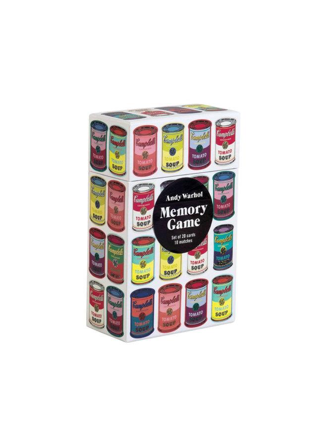 Memory Game Andy Warhol
