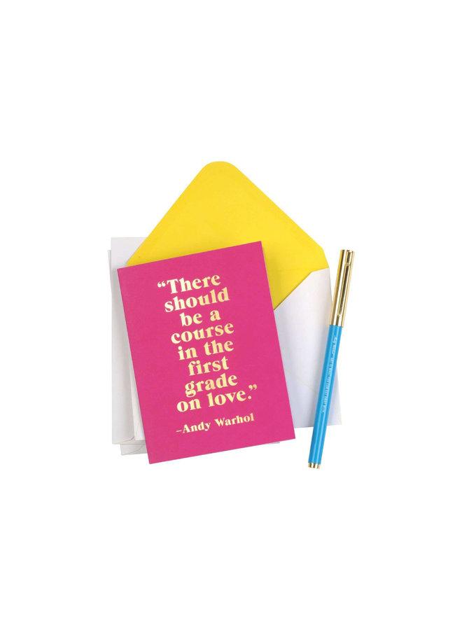Pen Set Andy Warhol