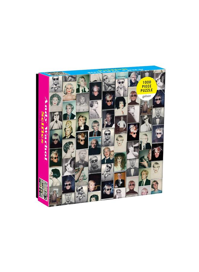 1000 SQ Andy Warhol Selfies Puzzle