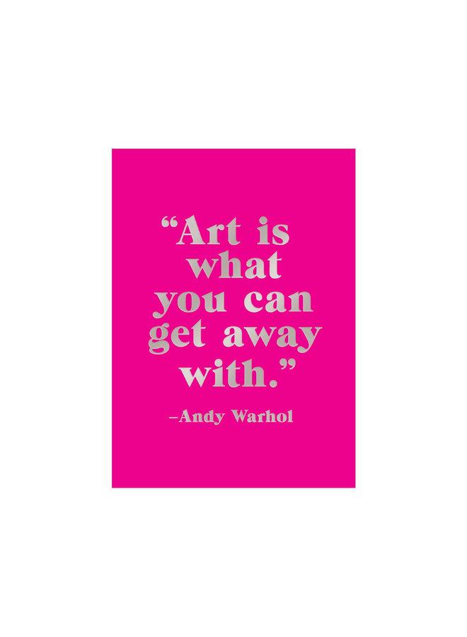 Sticky Note BK Andy Warhol
