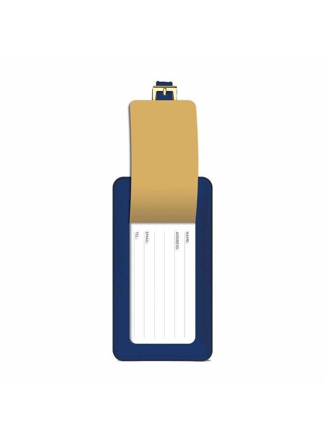 Luggage Tag Geometry Frank Lloyd Wright