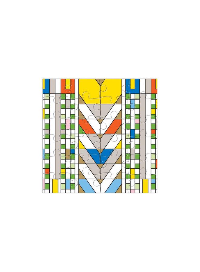 Wooden Jigsaw Puzzle Frank Lloyd Wright