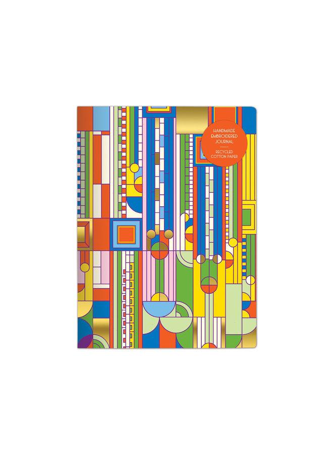 Handmade Journal Frank Lloyd Wright Saguaro Cactus