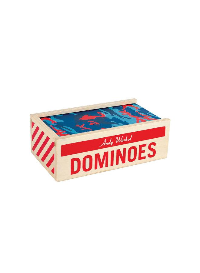 Wooden Dominoes Warhol