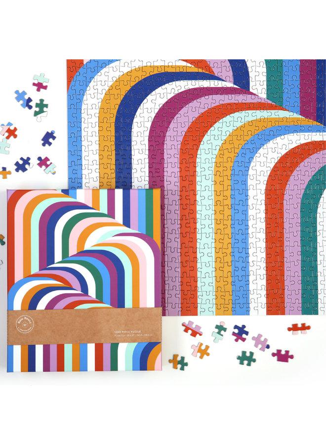 Now House 1000 Piece Jigsaw Puzzle Jonathan Adler
