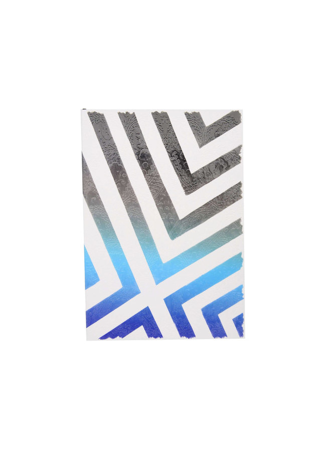 Paseo Sol Y Sombra Sunrise Blue Notebook