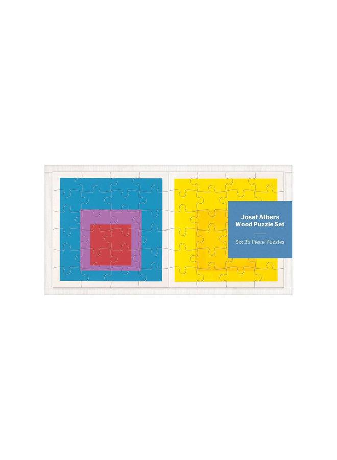 Josef Albers Wood Jigsaw Puzzle