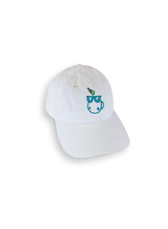 Vintage Style Baseball Cap White