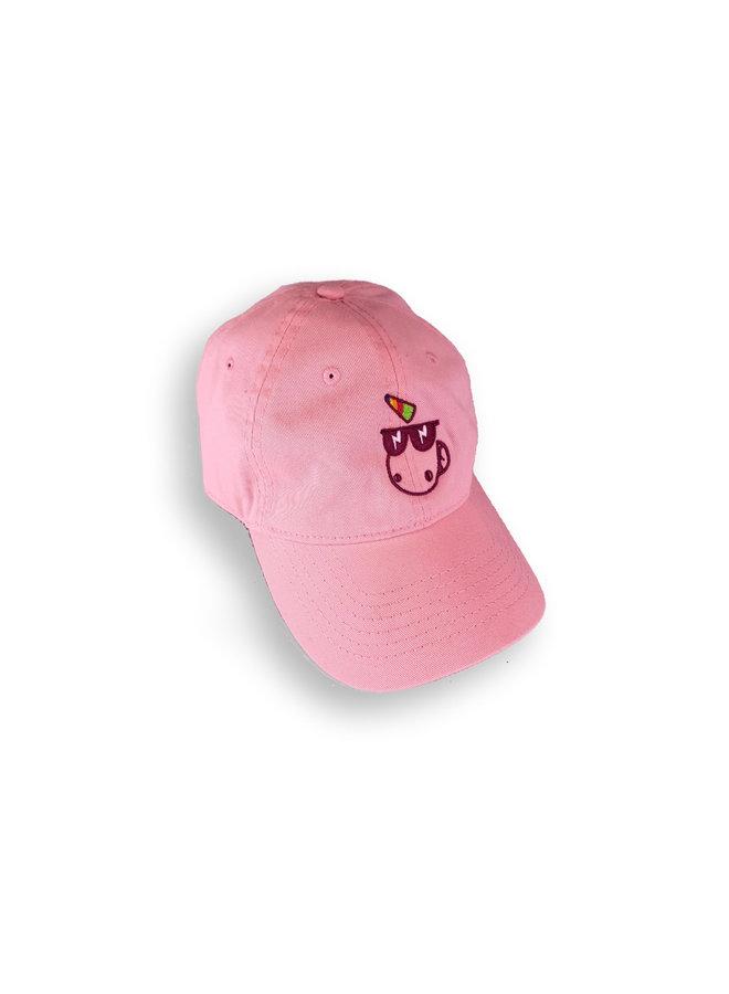 Vintage Style Baseball Cap Pink