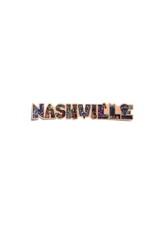 Kelsey Montague City Sticker Nashville