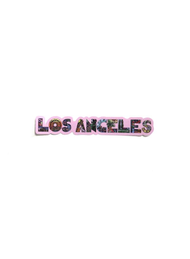Kelsey Montague City Sticker L.A.