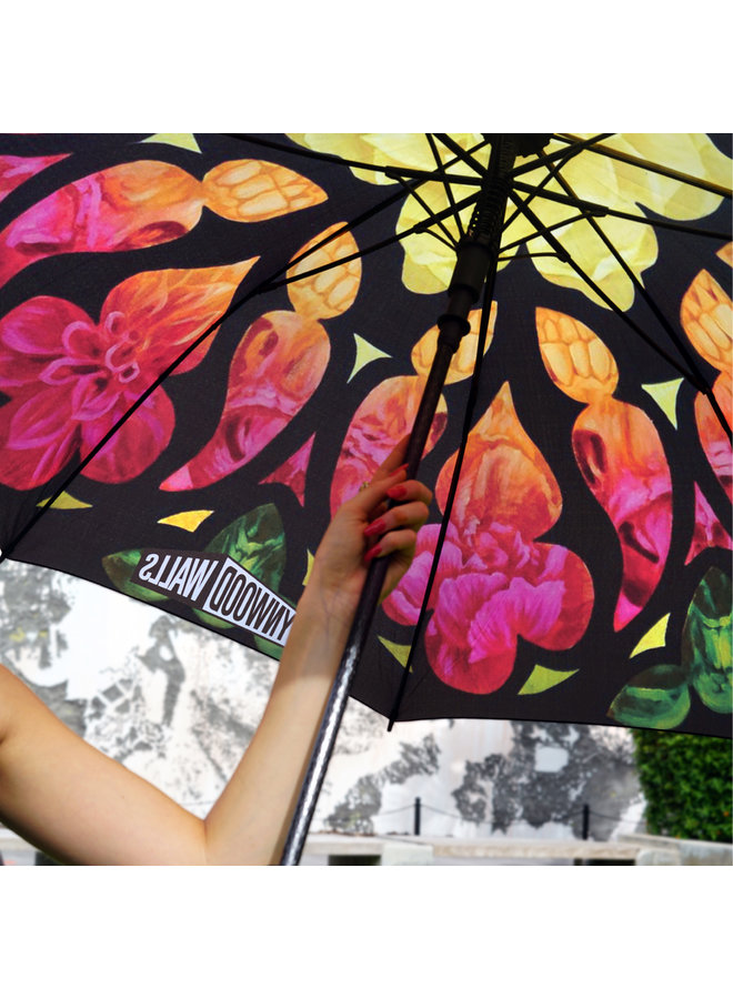 "Beau Stanton x Wynwood Walls ""Ephemeral Efflorescence"" Umbrella"