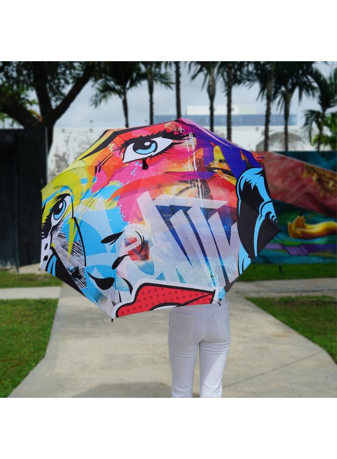 "SEN 2  x Wynwood Walls ""Abstra Pop"" Umbrella"