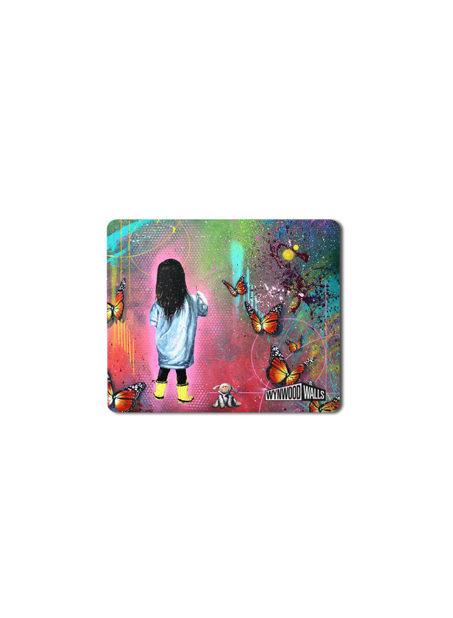 Risk Stormy Butterfly Mouse Pad