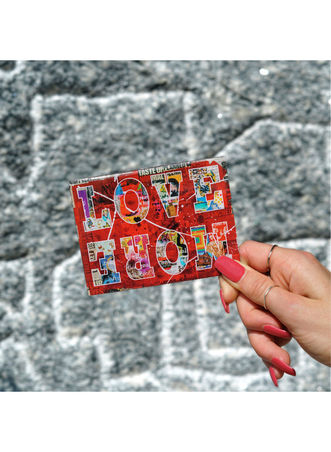 Peter Tunney  Love More Magnet