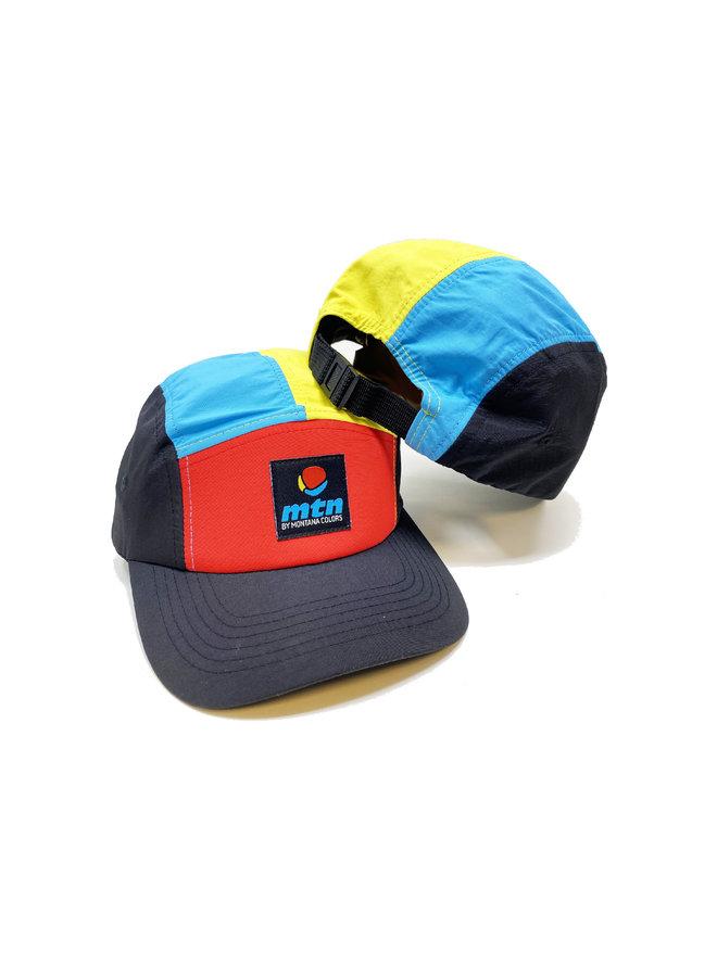 MTN 5 Panel Hat Multicolor