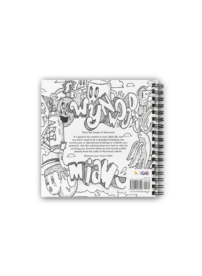 The Wynwood Coloring Book (First Edition)