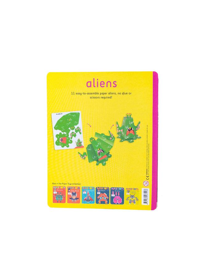 Aliens: 11 Paper Aliens to Build (Paper Toys)