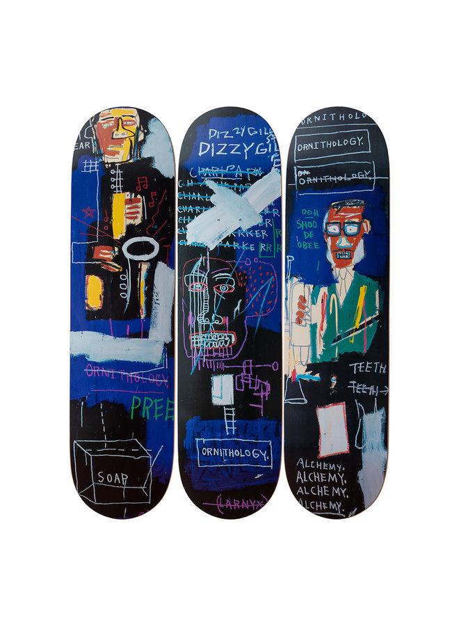 Jean-Michel Basquiat Horn Players Skate Deck