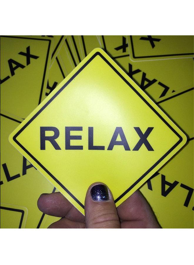 Scott Froschauer Relax Sticker