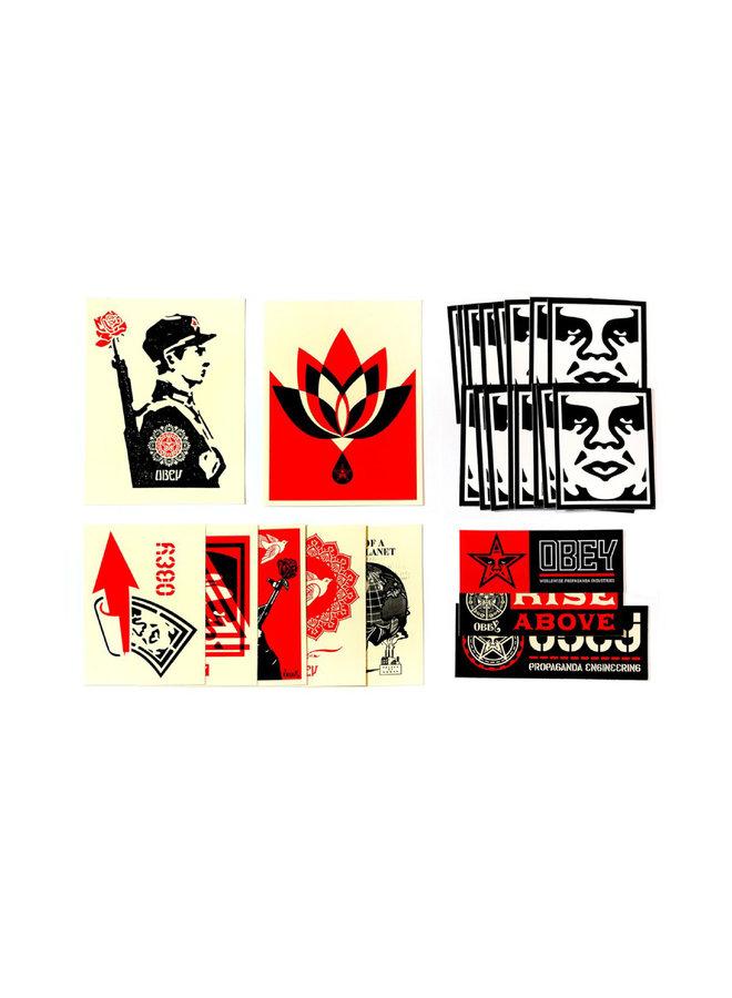 Shepard Fairey Obey Sticker Pack II