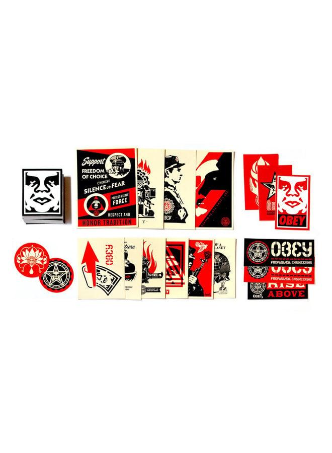 Shepard Fairey Obey Sticker Pack III