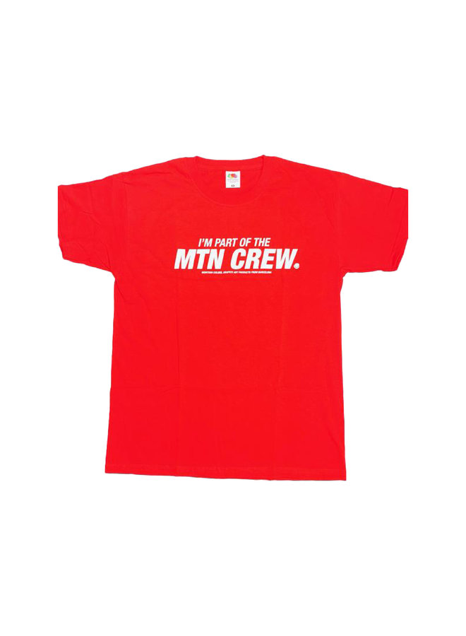 MTN Part of the Crew T-shirt Red