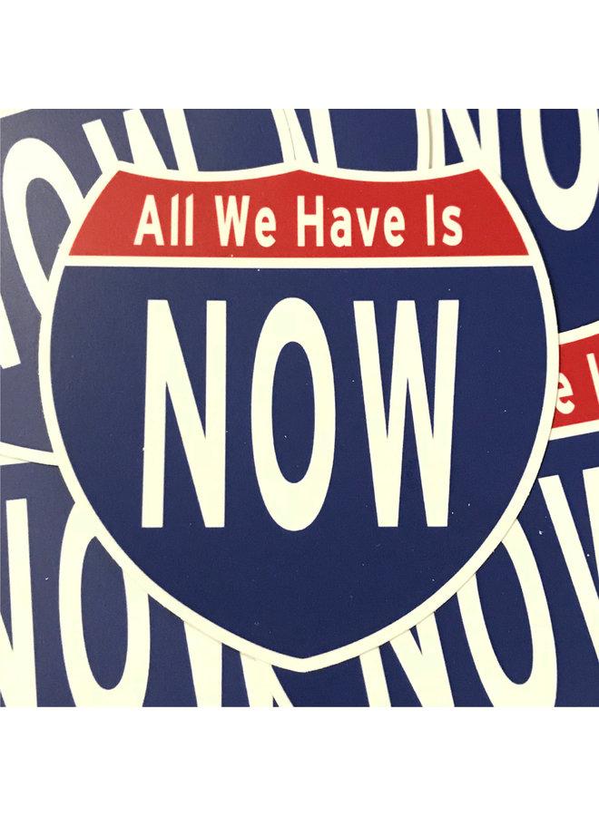 Scott Froschauer Interstate Now  Sticker