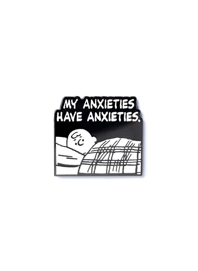 Peanuts Mood - Anxieties Have Anxieties Pin