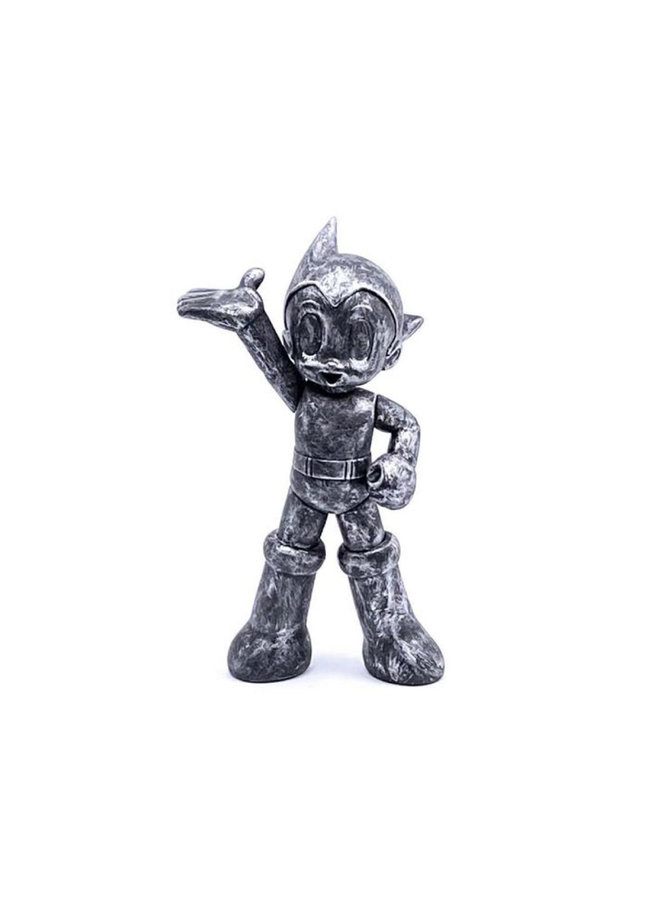 Astro Boy PVC Iconic Brushed Silver