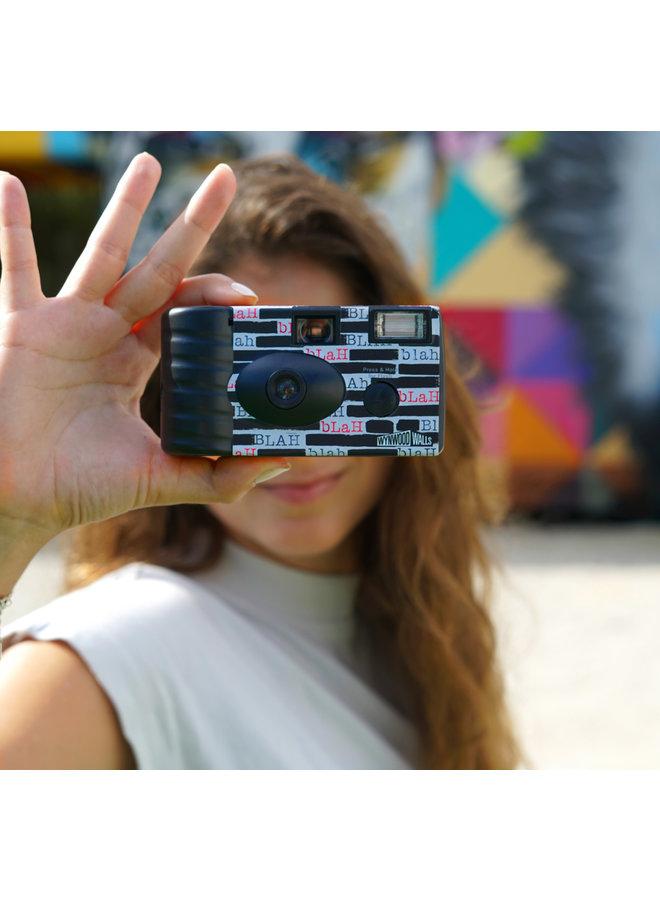Peter Tunney Blah Blah Blah Kodak 35mm Disposable Camera