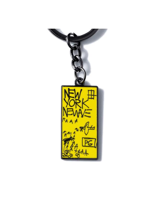 Jean-Michel Basquiat - New York New Wave Keychain