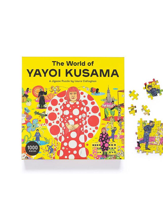 Puzzle 1000 World of Yayoi Kusama