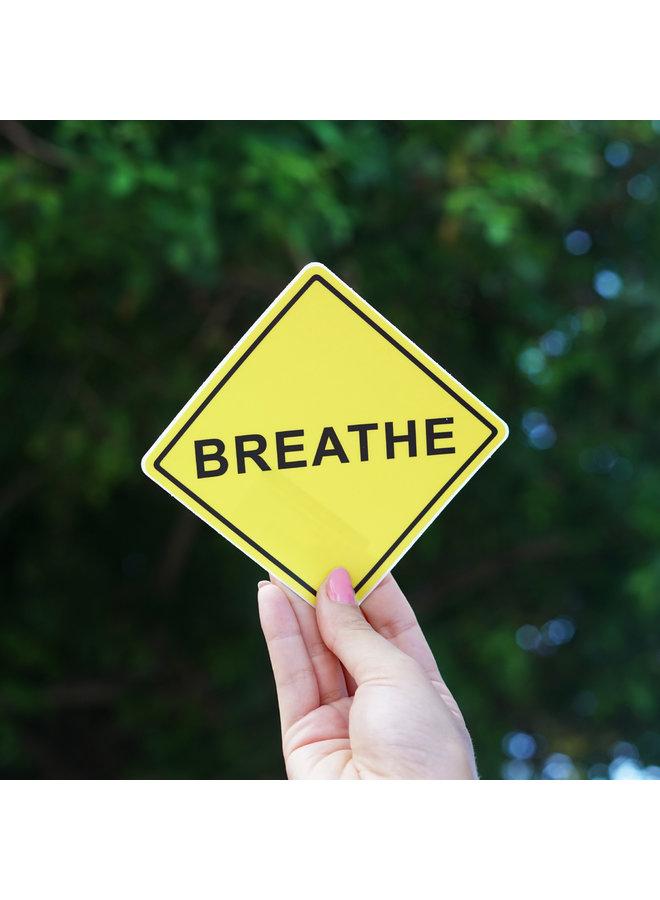 Scott Froschauer Breathe  Sticker