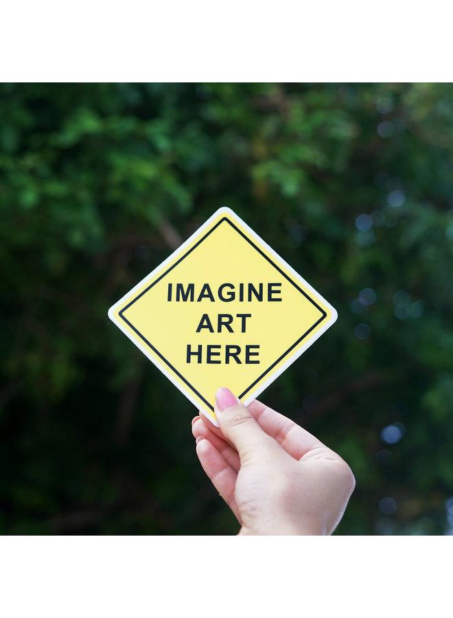 Scott Froschauer Imagine Art Here  Sticker