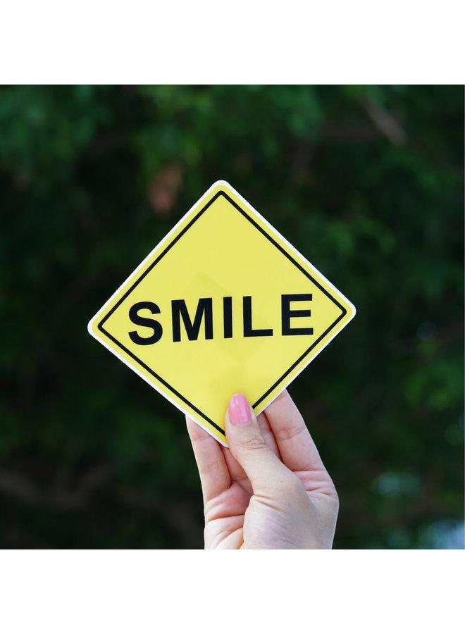 Scott Froschauer Smile  Sticker