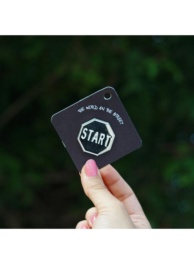 Scott Froschauer Mirror Start Pin
