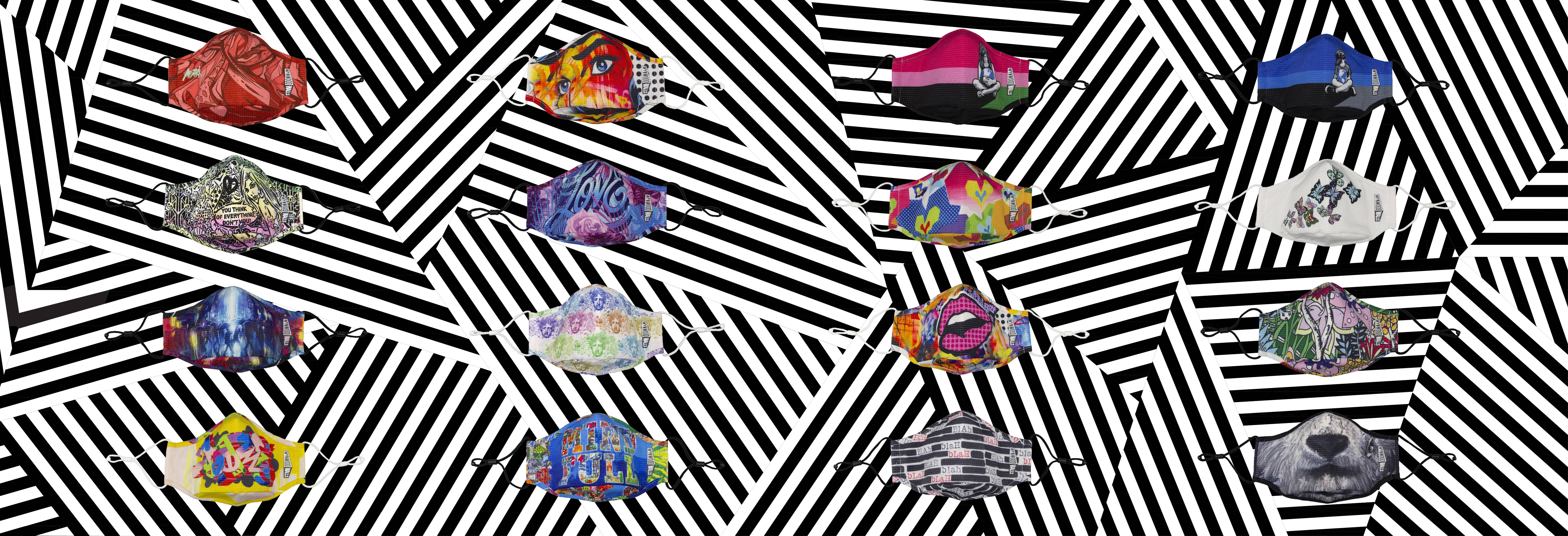Wynwood Walls Artists Mask Collection