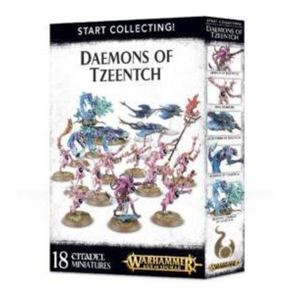 START COLLECTING! DAEMONS OF TZEENTCH DHC