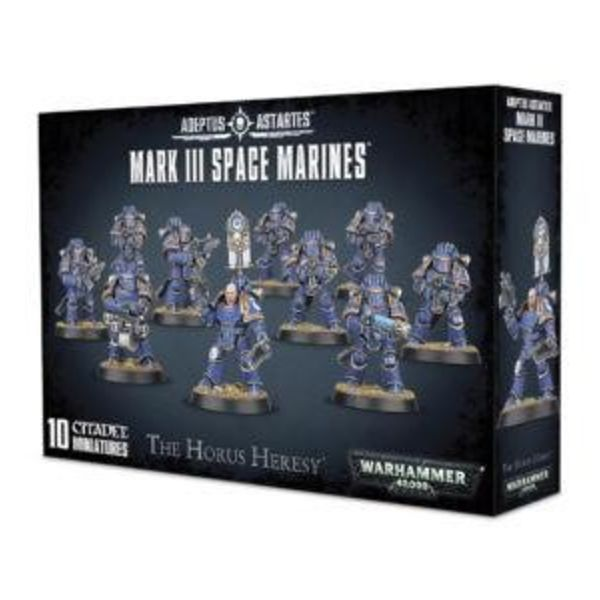 HORUS HERESY MARK III SPACE MARINES DHC