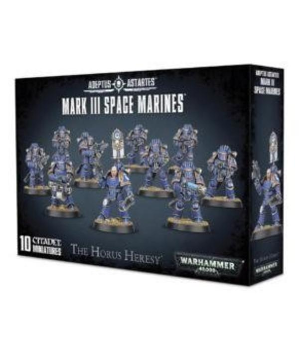 HORUS HERESY MARK III SPACE MARINES