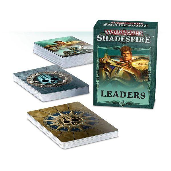 WARHAMMER UNDERWORLDS SHADESPIRE LEADER CARDS DHC