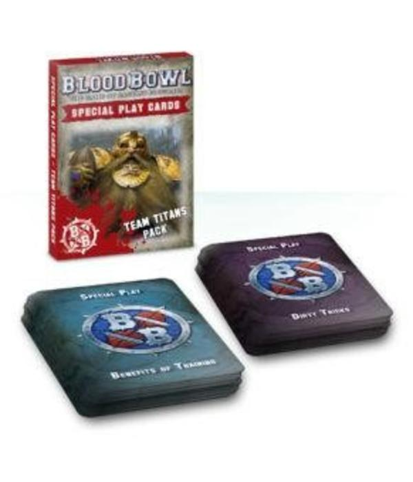 BLOOD BOWL CARDS TEAM TITANS SPECIAL PLAY PACK DHC
