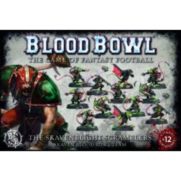 BLOOD BOWL THE SKAVENBLIGHT SCRAMBLERS