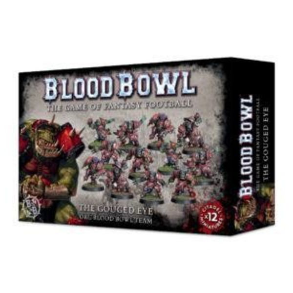 BLOOD BOWL THE GOUGED EYE ORC TEAM