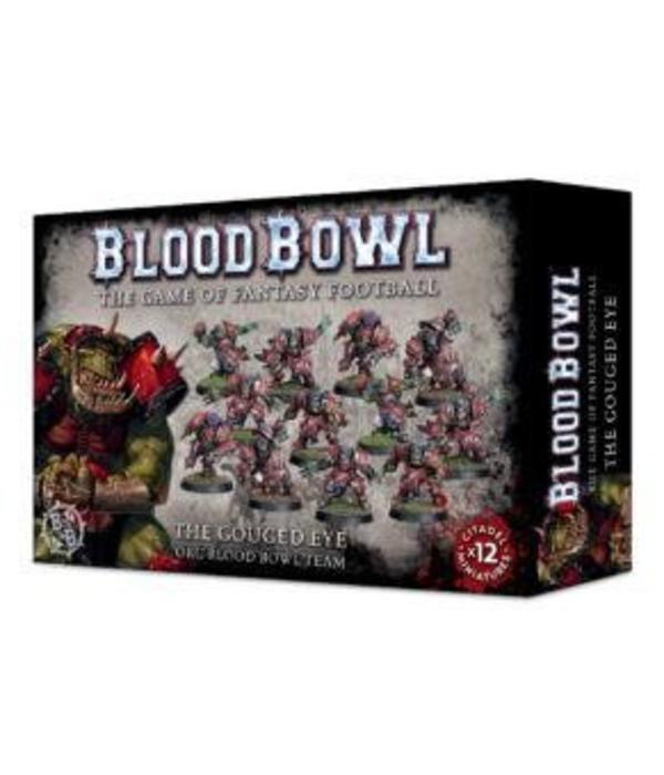 BLOOD BOWL THE GOUGED EYE ORC TEAM