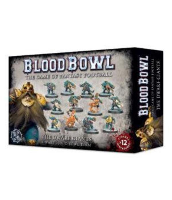 BLOOD BOWL THE DWARF GIANTS TEAM DHC