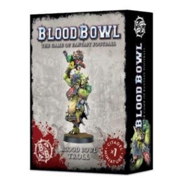 BLOOD BOWL TROLL DHC