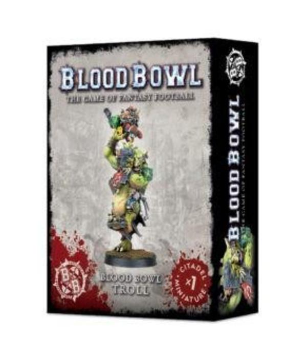 BLOOD BOWL TROLL DHC
